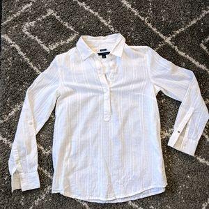Beautiful textured cotton shirt sz: XS